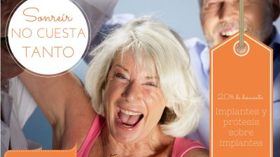 Sonreír no cuesta tanto con nuestros precios especiales en implantología