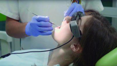 Ven a relajarte a nuestra clínica con las gafas de realidad aumentada